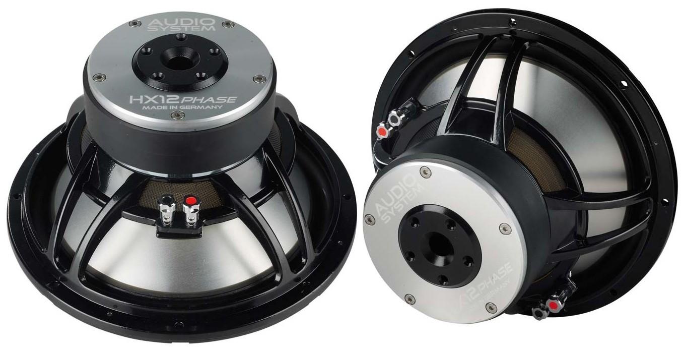 test car hifi subwoofer chassis audio system hx 12 phase. Black Bedroom Furniture Sets. Home Design Ideas