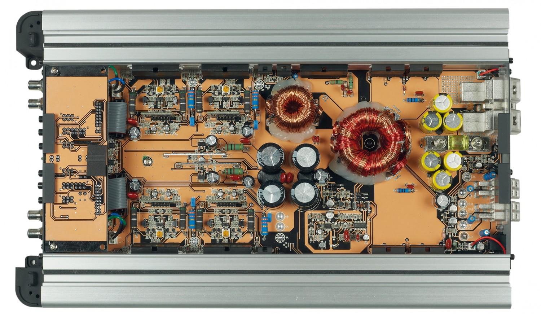Car-HiFi Endstufe 4-Kanal Audio System HX 85.4 im Test, Bild 2