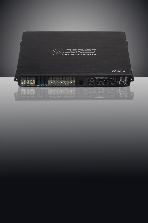 Car-HiFi Endstufe 4-Kanal Audio System M 80.4 im Test, Bild 1