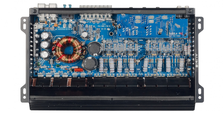 Car-HiFi Endstufe 4-Kanal Audio System M-90.4 im Test, Bild 3
