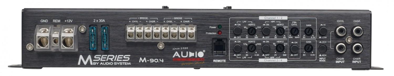 Car-HiFi Endstufe 4-Kanal Audio System M-90.4 im Test, Bild 4