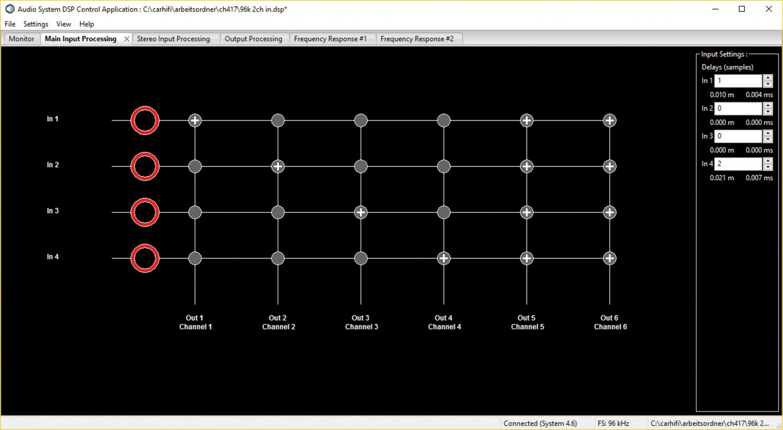 Car-HiFi Endstufe 4-Kanal Audio System R-110.4 DSP im Test, Bild 2