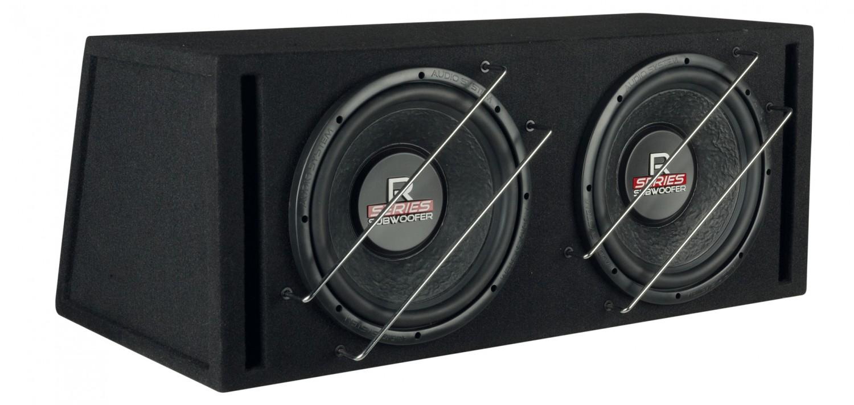 Car-Hifi Subwoofer Gehäuse Audio System R 12 BR-2 im Test, Bild 2