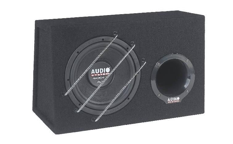 Car-Hifi Subwoofer Gehäuse Audio System Radion 10 Plus BR im Test, Bild 5
