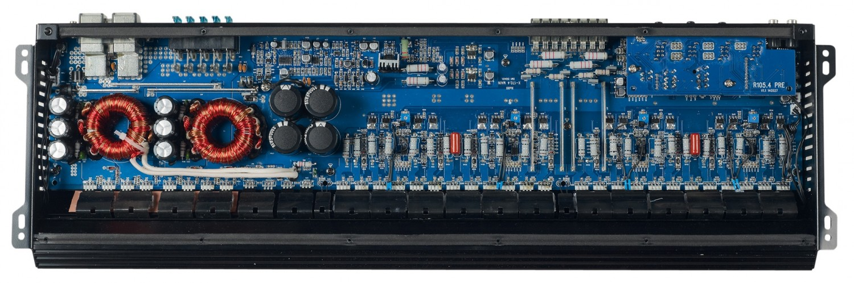 Car-HiFi Endstufe 4-Kanal Audio System X-170.4 im Test, Bild 8