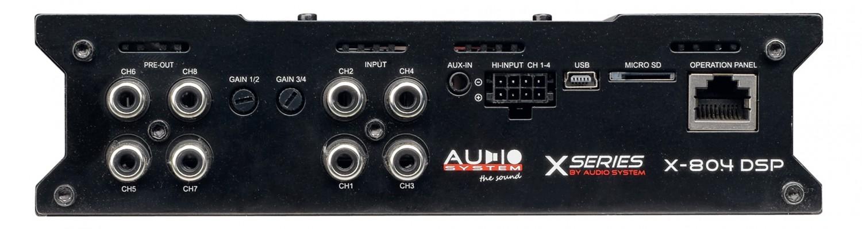 Car-HiFi Endstufe 4-Kanal Audio System X-80.4 DSP im Test, Bild 3