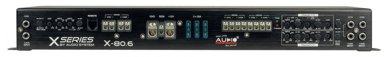 Car HiFi Endstufe Multikanal Audio System X-80.6 im Test, Bild 7