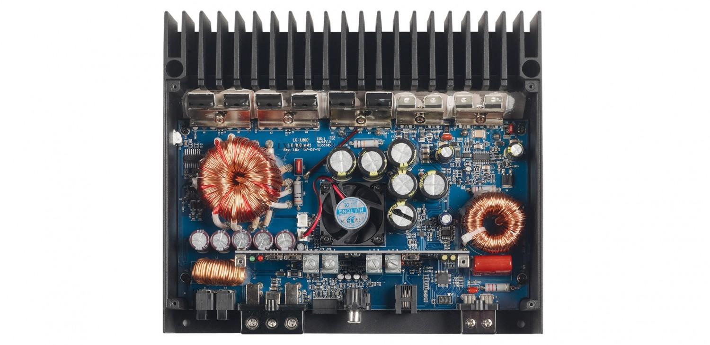Car-HiFi Endstufe Mono Audiocontrol LC-1.800 im Test, Bild 2