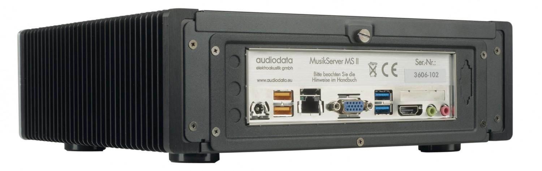 Musikserver Audiodata Musikserver MS II mit Roon im Test, Bild 7
