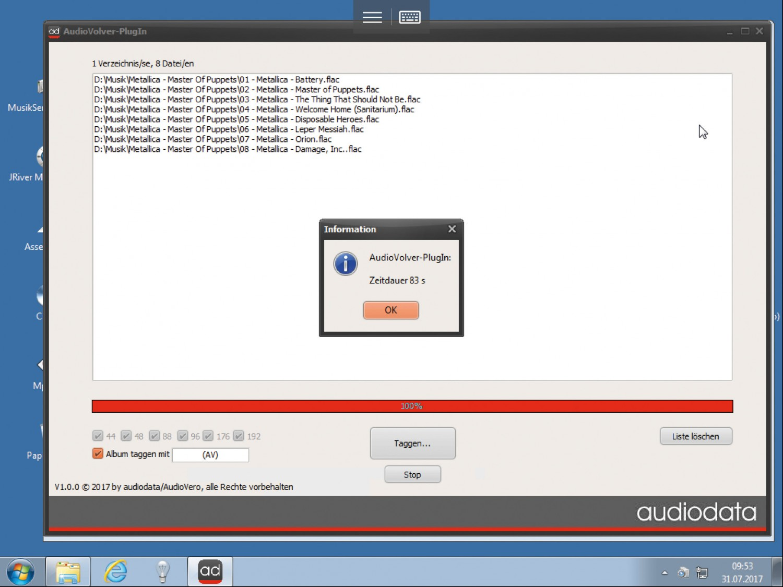 Musikserver Audiodata Plug-in Musikserver MS II im Test, Bild 5