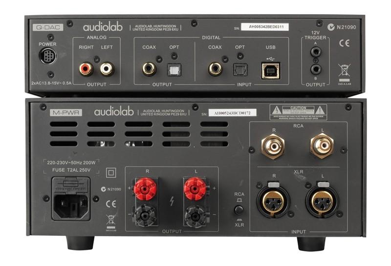 D/A-Wandler Audiolab Q-DAC, Audiolab MPWR im Test , Bild 2