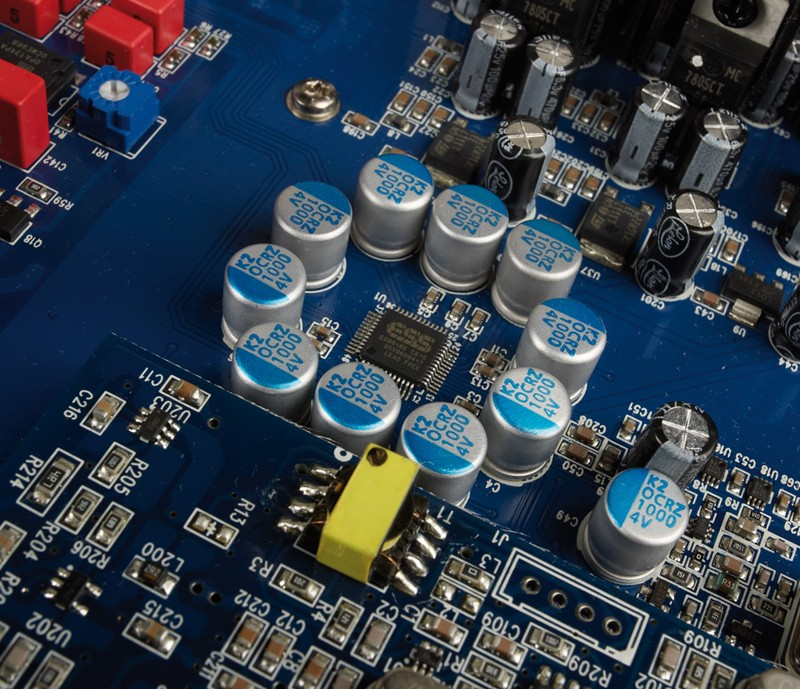 D/A-Wandler Audiolab Q-DAC, Audiolab MPWR im Test , Bild 7