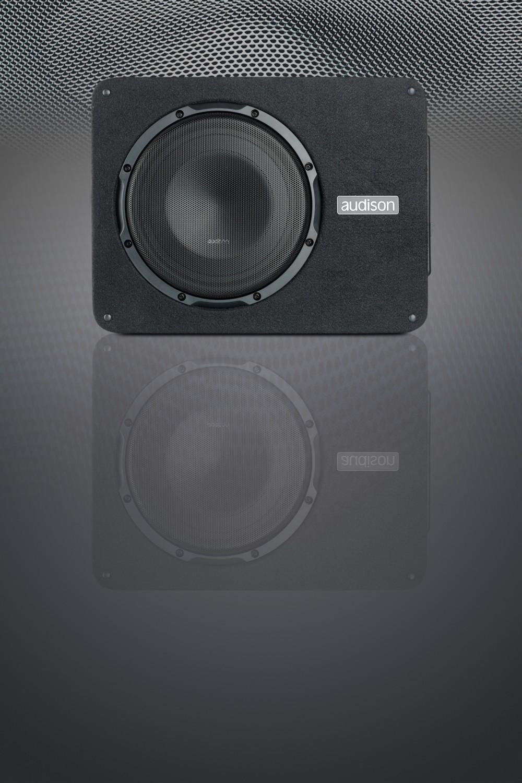 test car hifi subwoofer aktiv audison apbx 10 as sehr. Black Bedroom Furniture Sets. Home Design Ideas