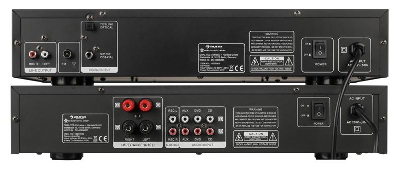 CD-Player Auna AV2-CD509, Auna AV2-CD508 im Test , Bild 4