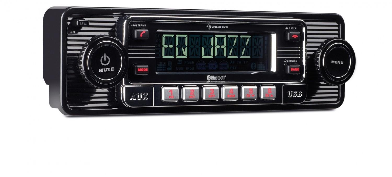 1-DIN-Autoradios Auna TCX-1-RMD im Test, Bild 1