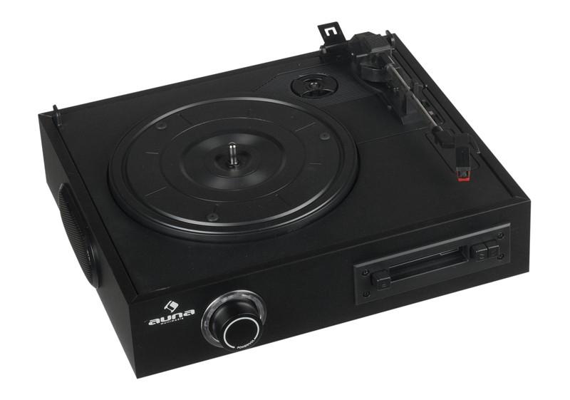 Plattenspieler USB Auna TTS-T33 im Test, Bild 1