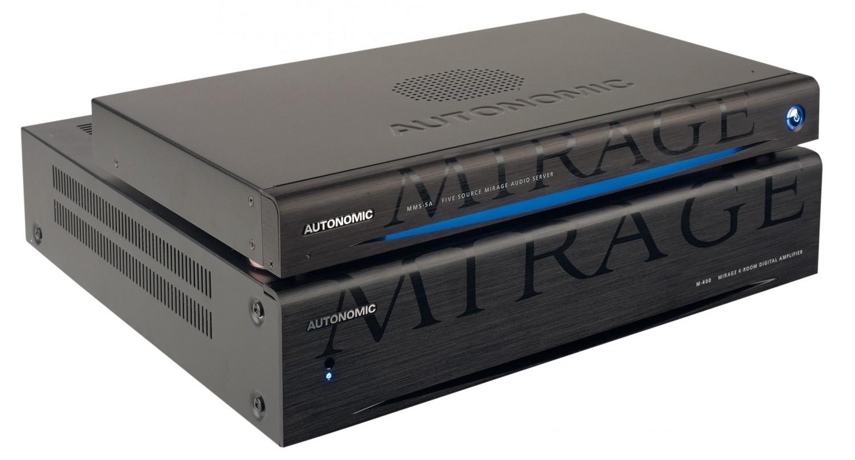 Musikserver Autonomic Mirage MMS-5A, Autonomic M-400 im Test , Bild 2