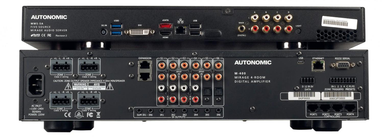 Musikserver Autonomic Mirage MMS-5A, Autonomic M-400 im Test , Bild 4