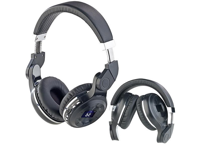Kopfhörer Hifi Auvisio Auvisio MPH-350.mic im Test, Bild 1