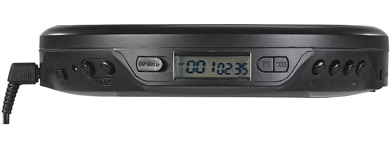 CD-Player Auvisio Tragbarer CD-Player ZX-1805-675 im Test, Bild 3