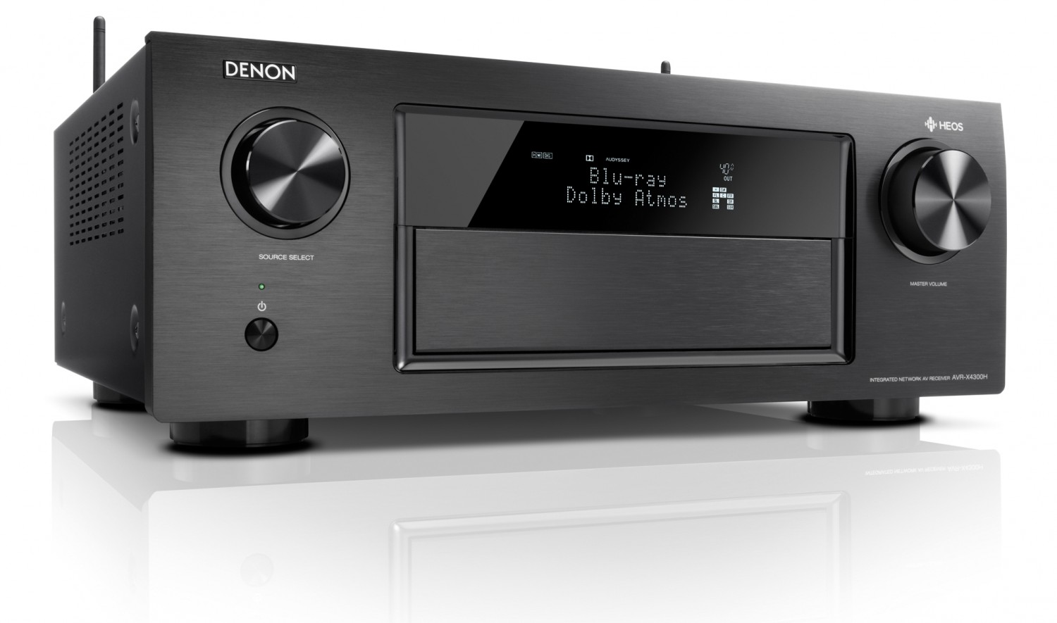 test av receiver denon avr x4300h sehr gut seite 1. Black Bedroom Furniture Sets. Home Design Ideas