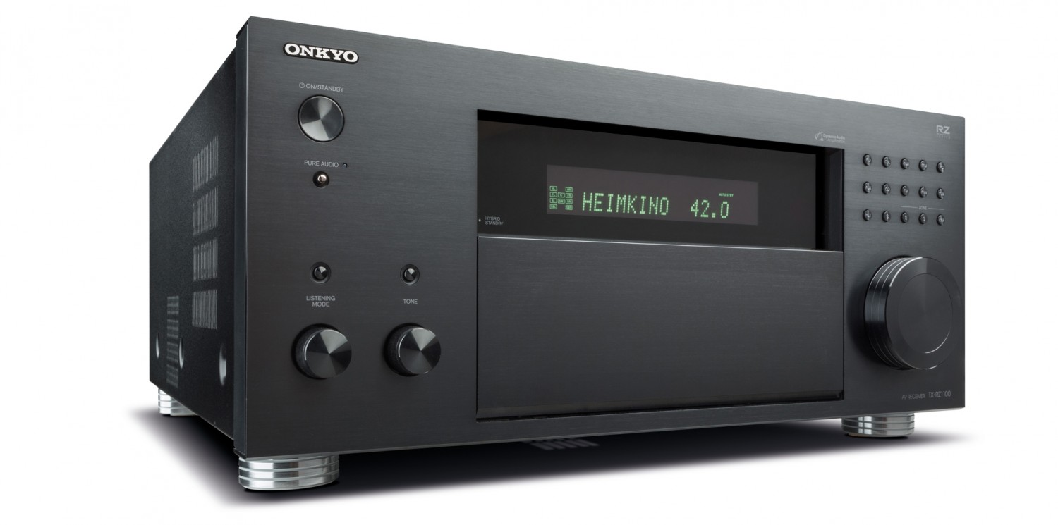 test av receiver onkyo tx rz1100 sehr gut seite 1. Black Bedroom Furniture Sets. Home Design Ideas