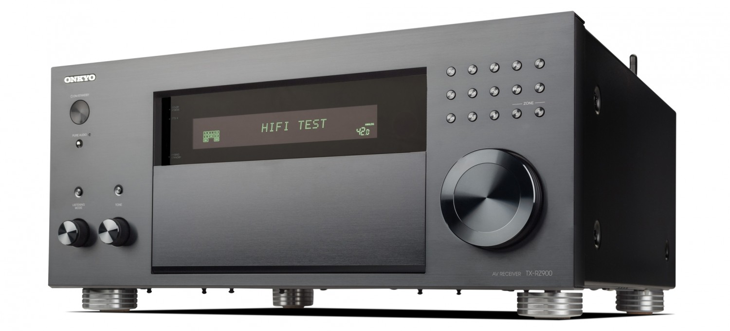 test av receiver onkyo tx rz900 sehr gut seite 1. Black Bedroom Furniture Sets. Home Design Ideas