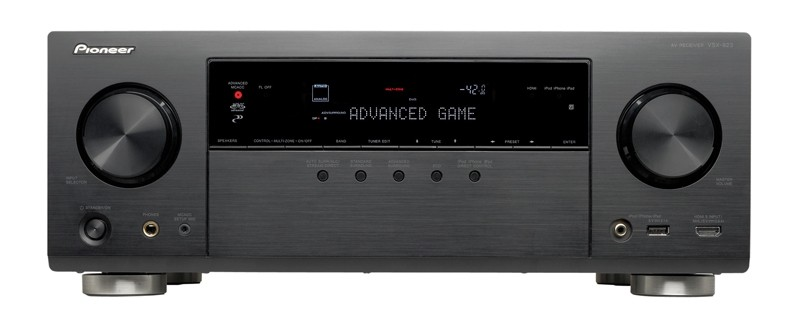 test av receiver pioneer vsx 923 sehr gut seite 2. Black Bedroom Furniture Sets. Home Design Ideas