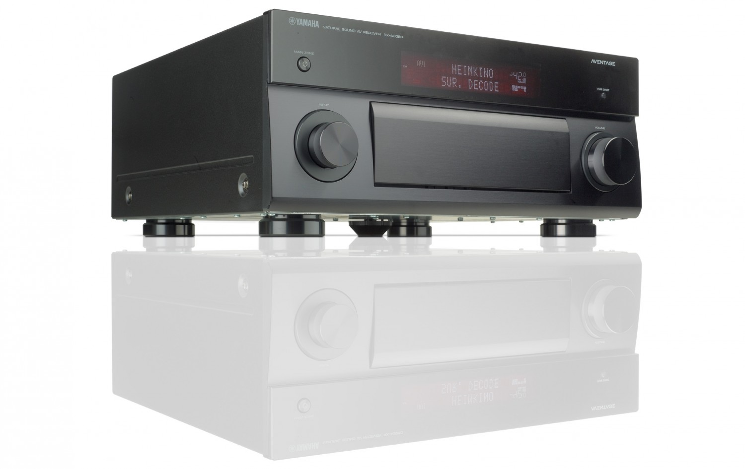 test av receiver yamaha rx a3060 sehr gut seite 1. Black Bedroom Furniture Sets. Home Design Ideas
