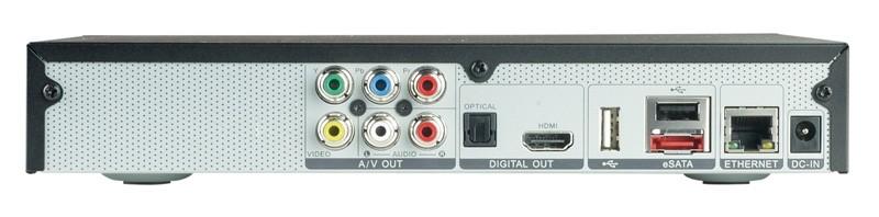 DLNA- / Netzwerk- Clients / Server / Player Avermedia O272 im Test, Bild 2