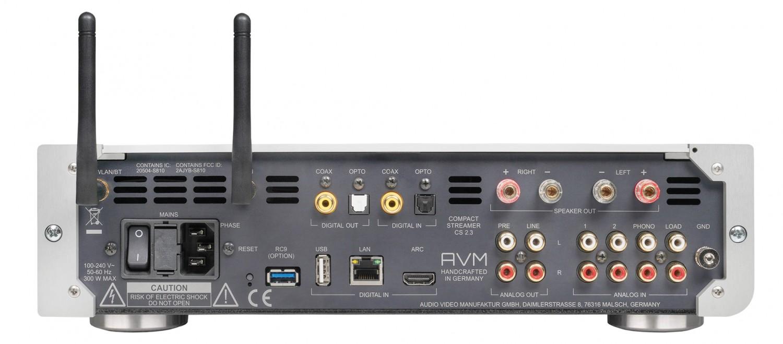 CD-Receiver AVM Inspiration CS 2.3 im Test, Bild 3