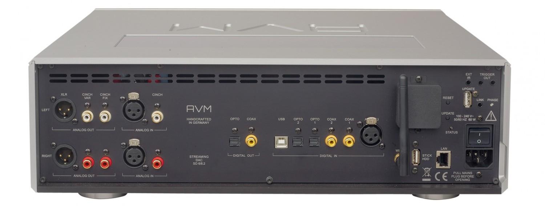D/A-Wandler AVM Ovation SD 8.2, AVM Ovation MA 6.2 im Test , Bild 4