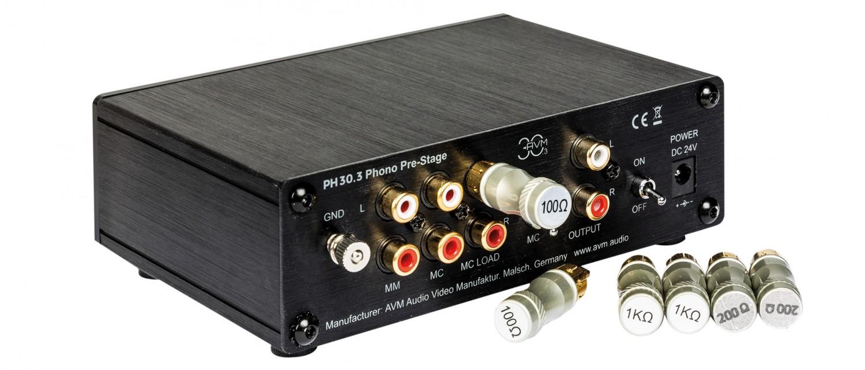 Phono Vorstufen AVM PH 30.3 im Test, Bild 2