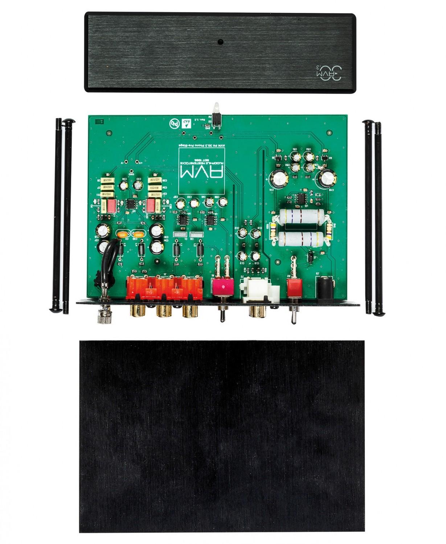 Phono Vorstufen AVM PH 30.3 im Test, Bild 3