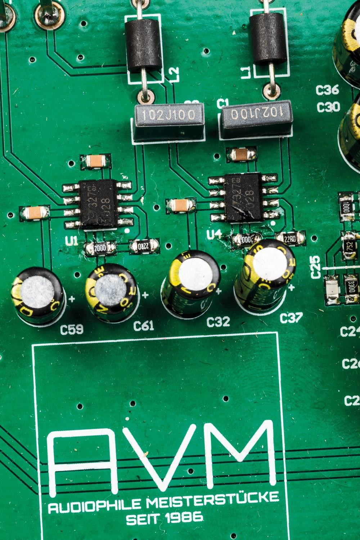 Phono Vorstufen AVM PH 30.3 im Test, Bild 7