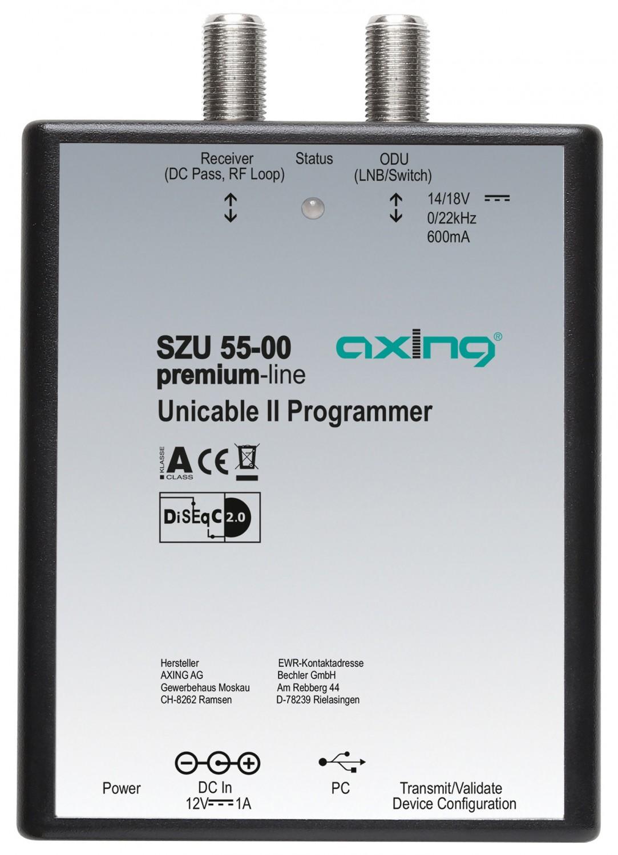 Sat-Anlagen Axing Unicable II-System im Test, Bild 2