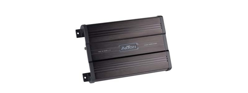 Car-HiFi Endstufe 2-Kanal Axton A2100X im Test, Bild 1