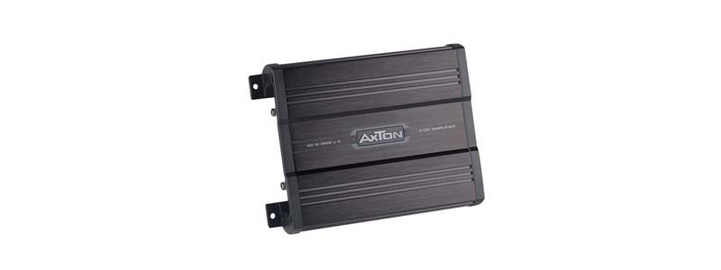 Car-HiFi Endstufe 4-Kanal Axton A4050X im Test, Bild 1