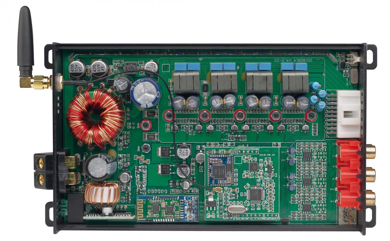 Car-HiFi Endstufe 4-Kanal Axton A590DSP im Test, Bild 5