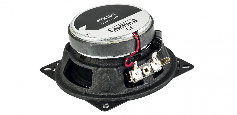 Car-HiFi-Lautsprecher 10cm Axton ATX100, Axton ATX130, Axton ATX165 im Test , Bild 2