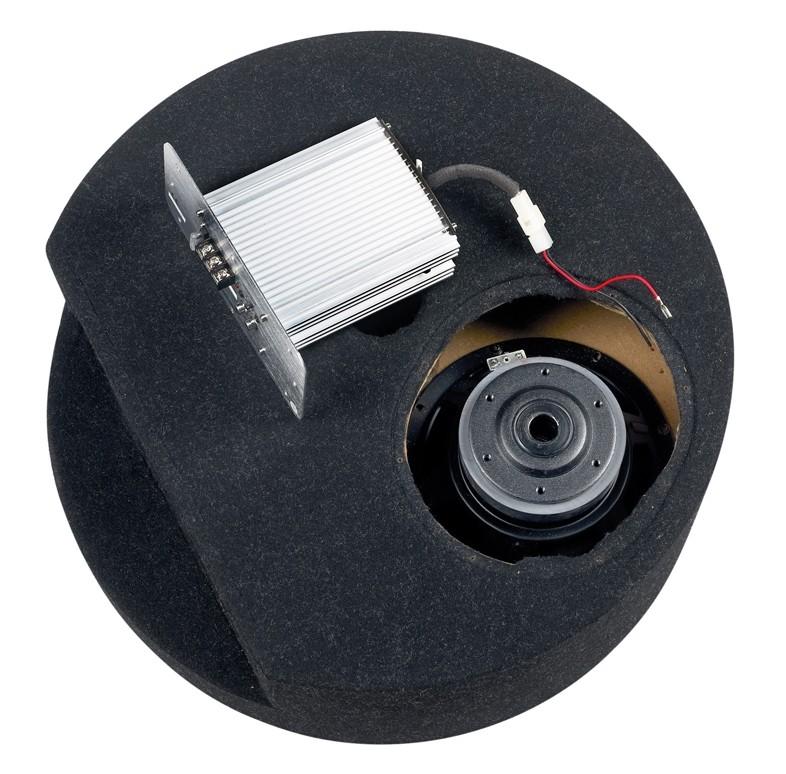 test car hifi subwoofer aktiv axton axb20stp sehr gut. Black Bedroom Furniture Sets. Home Design Ideas