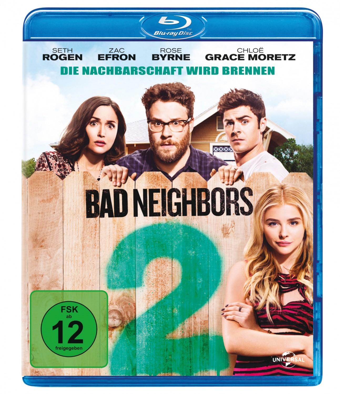 Blu-ray Film Bad Neighbors 2 (Universal) im Test, Bild 1