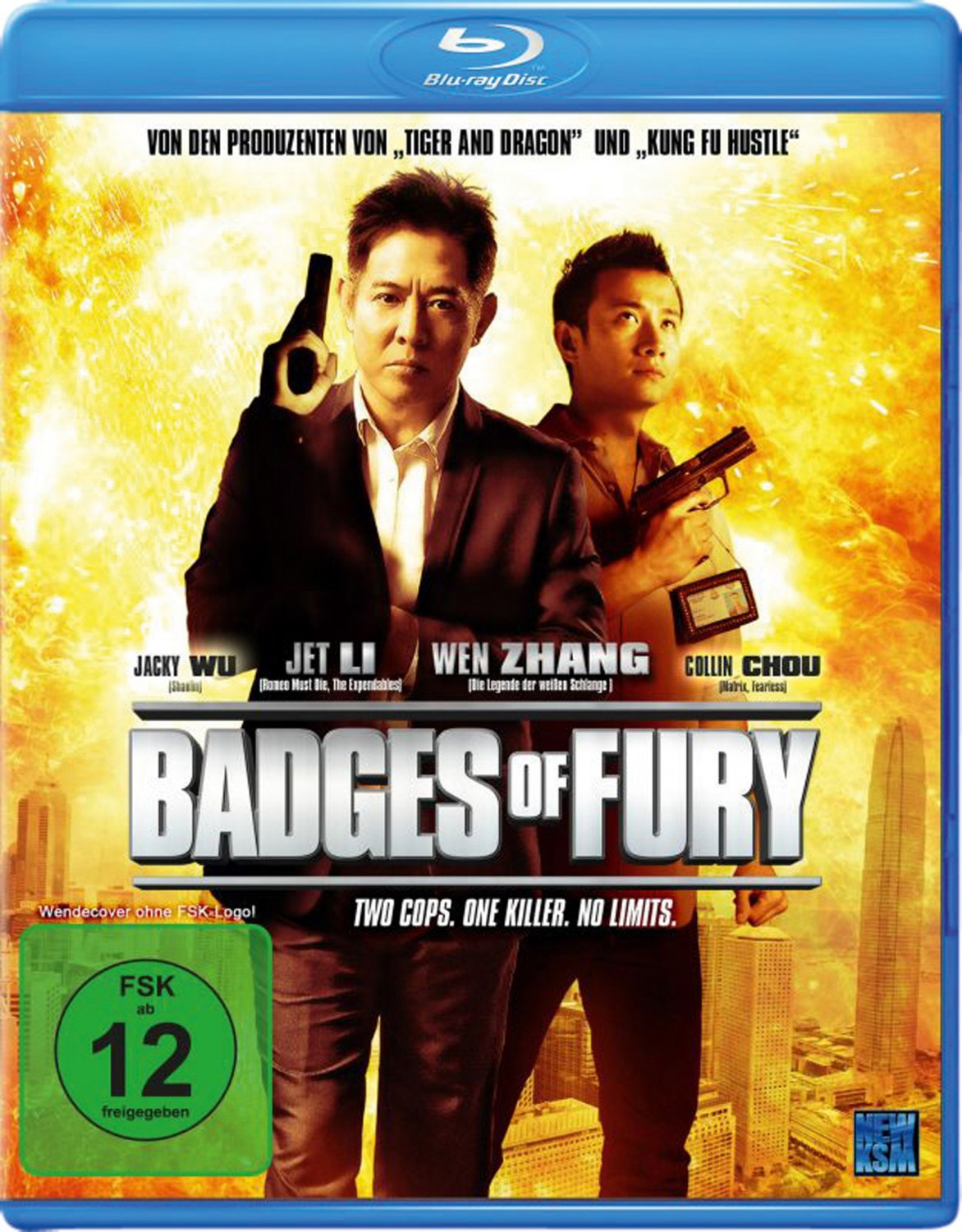 Blu-ray Film Badges of Fury (Universum) im Test, Bild 1