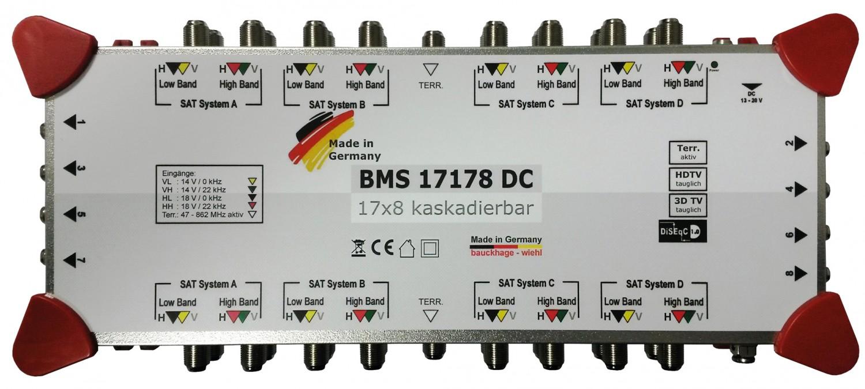 Sat-Anlagen Bauckhage BMS1717x Multischalter im Test, Bild 3