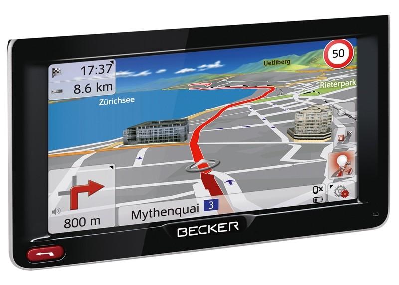 Portable Navigationssysteme Becker Active 50 im Test, Bild 1
