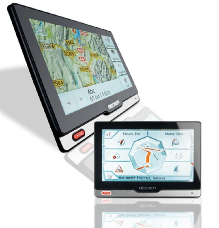 Portable Navigationssysteme Becker revo.1 im Test, Bild 1