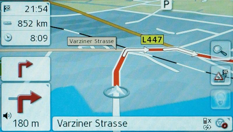 Portable Navigationssysteme Becker revo.1 im Test, Bild 5