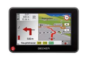 Portable Navigationssysteme Becker Traffic Assist Z113, Falk M4 3rd im Test , Bild 3