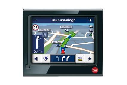 Portable Navigationssysteme Becker Traffic Assist Z113, Falk M4 3rd im Test , Bild 4