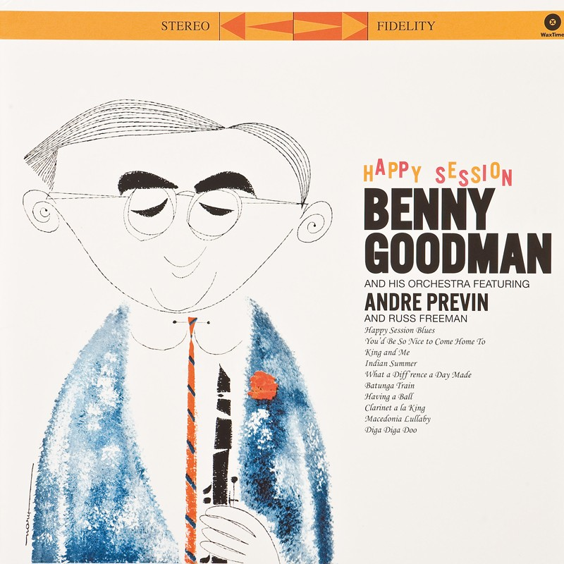 Schallplatte Benny Goodman - Happy Session (WaxTime) im Test, Bild 1